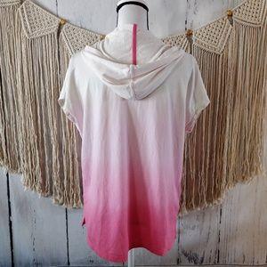 Ralph Lauren Tops - Ralph Lauren Pink Ombre Active Hoodie S